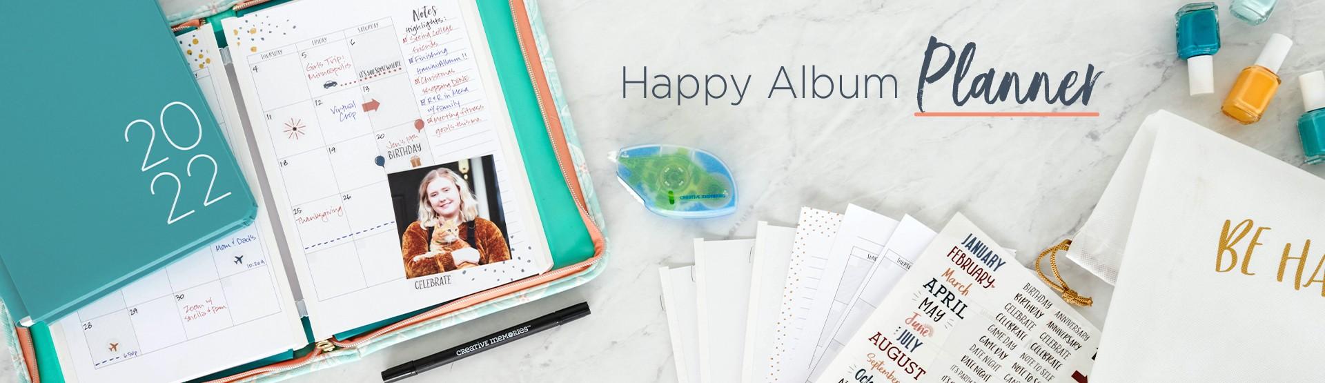 Happy Album Planner