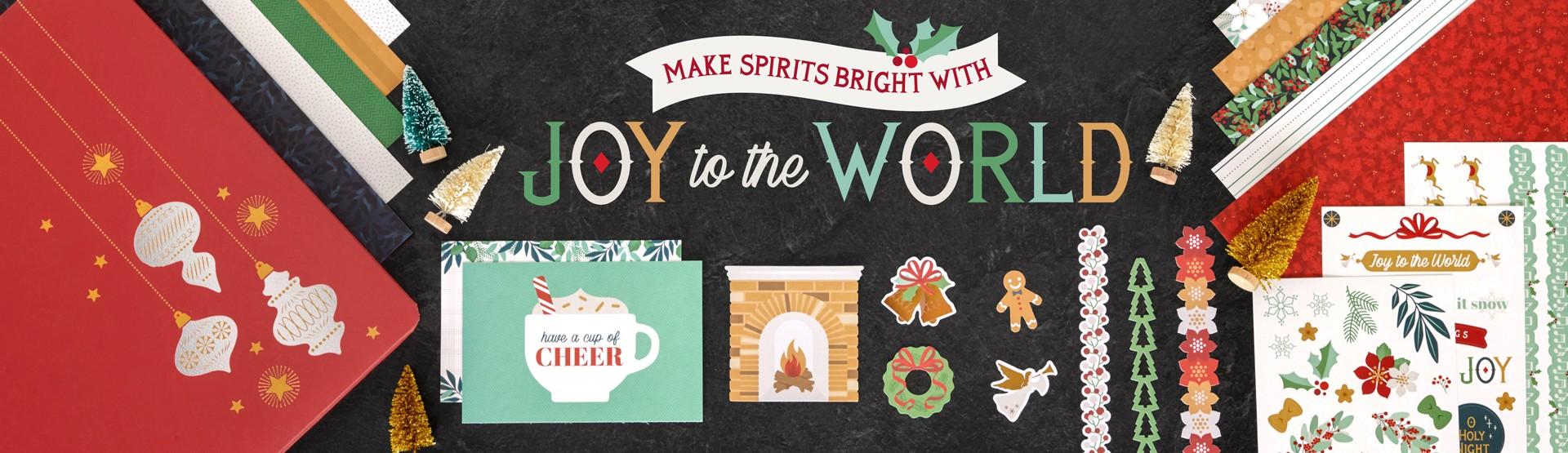 Christmas Scrapbooking Supplies: Joy to the World