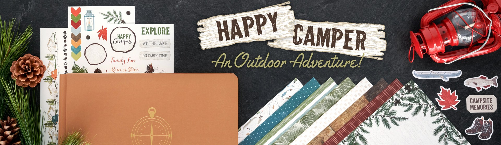 Camping & Outdoors: Happy Camper