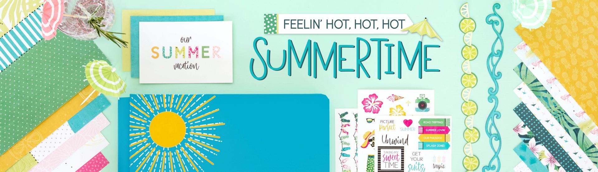 Summer Scrapbooking Supplies: Summertime