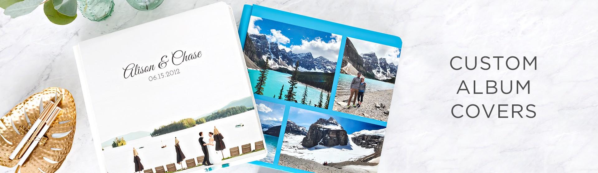 Custom Photo Album Covers