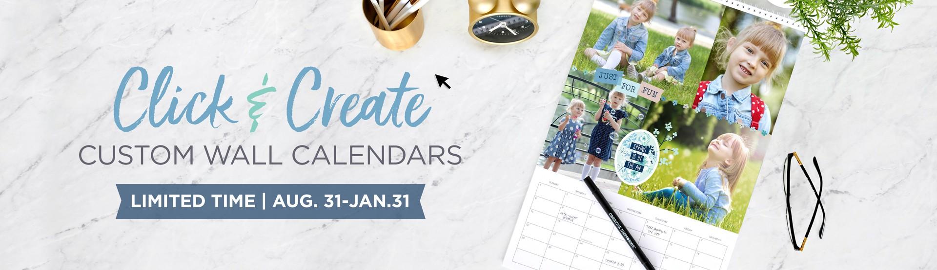 LIMITED TIME: Custom Wall Calendars