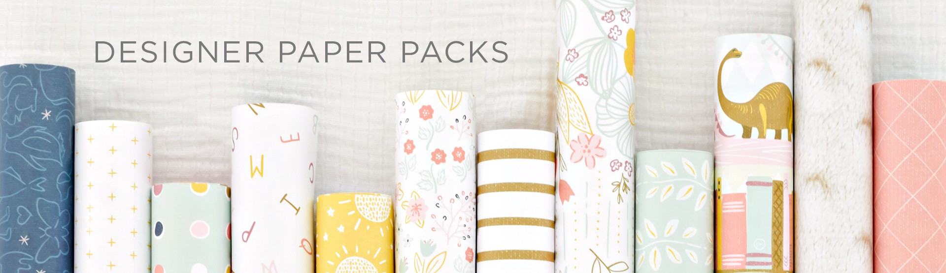 Designer Paper Packs