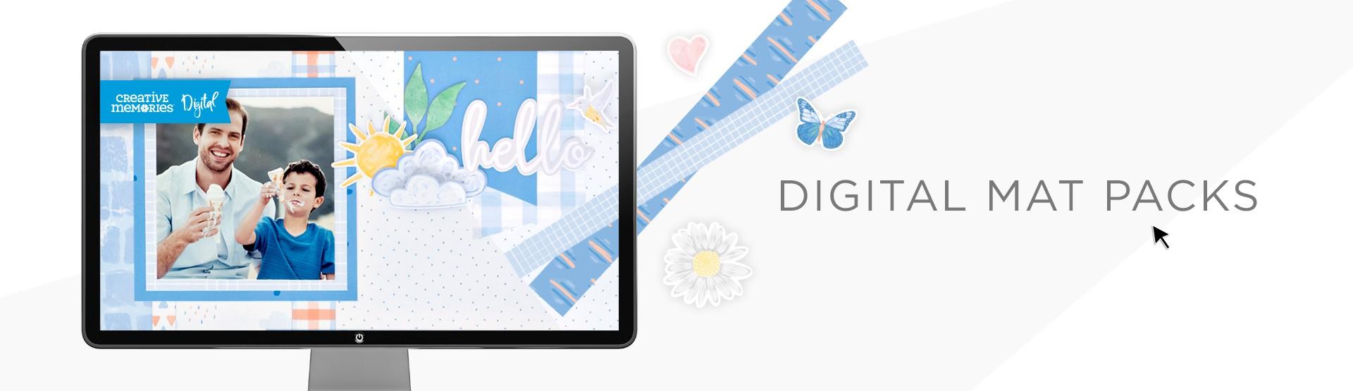 Digital Mat Packs