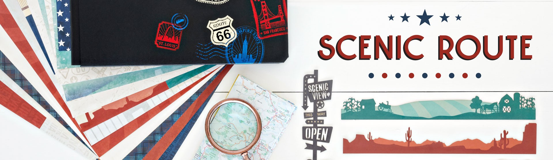 Travel & USA: Scenic Route