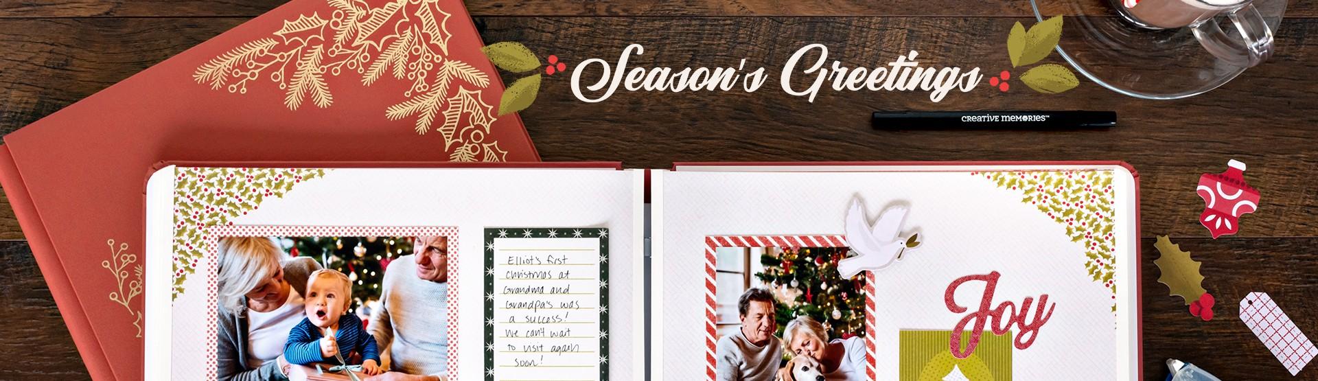 Christmas & Holidays: Season's Greetings