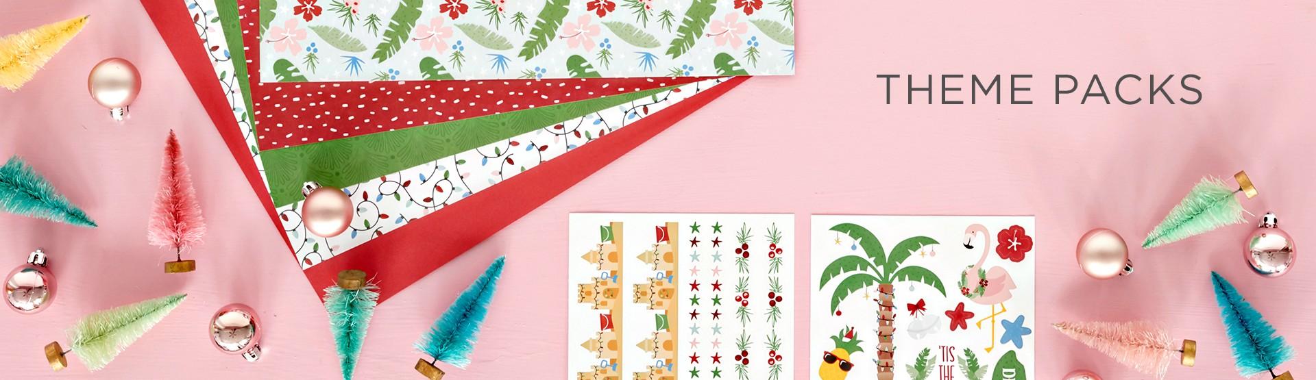 Theme Packs: Scrapbook Kits
