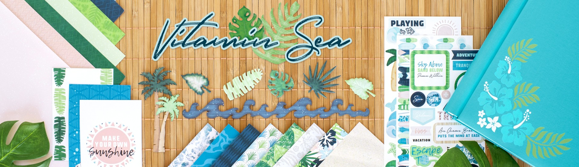 Tropical Scrapbook Supplies: Vitamin Sea