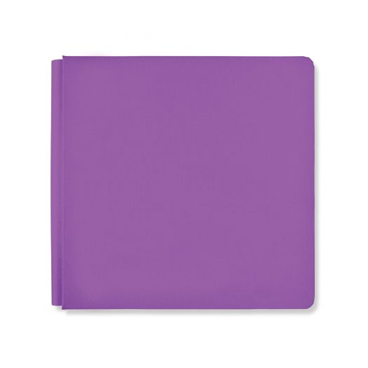12x12 Grape Rainbow Rush Album Cover - Creative Memories