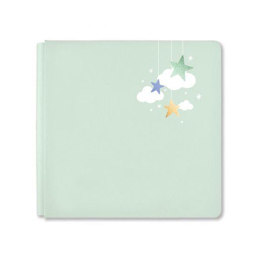 Creative Memories 12x12 light green Little Dream baby album cover