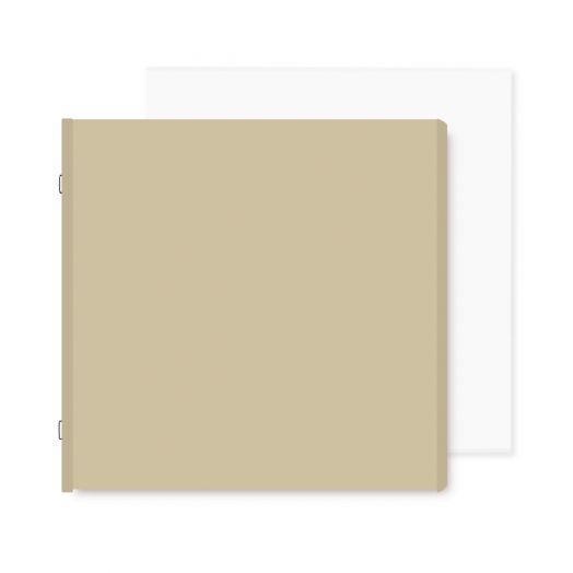 Natural 12x12 Plain Pages and Protectors - Creative Memories