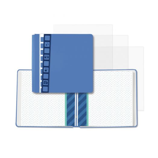 Creative Memories Picture This! blue 12x12 filmstrip scrapbook