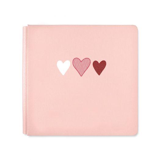 Heart Scrapbook: Sweetheart Album Cover - Creative Memories