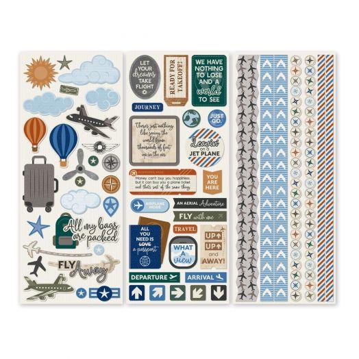 Creative Memories airplane stickers