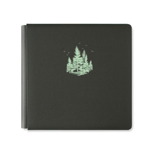 Creative Memories 12x12 Beneath the Pines forest album cover