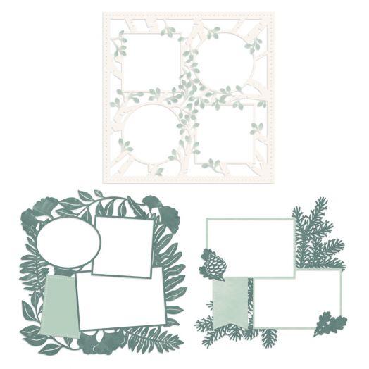 Creative Memories Beneath the Pines laser cut paper