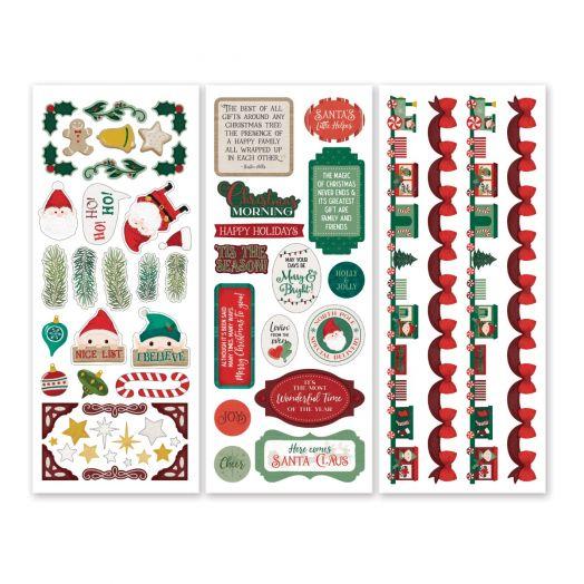 Creative Memories Christmas stickers for scrapbooking