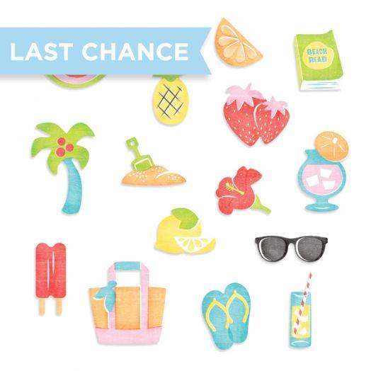 Citrus Summer Embellishments