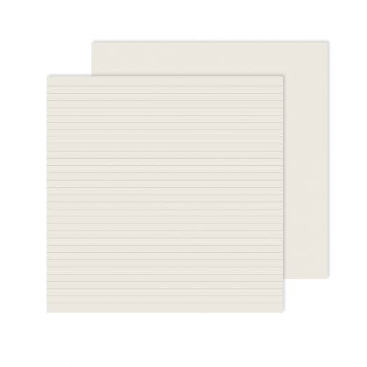 Creative Memories 12x12 spargo lined paper for scrapbooking