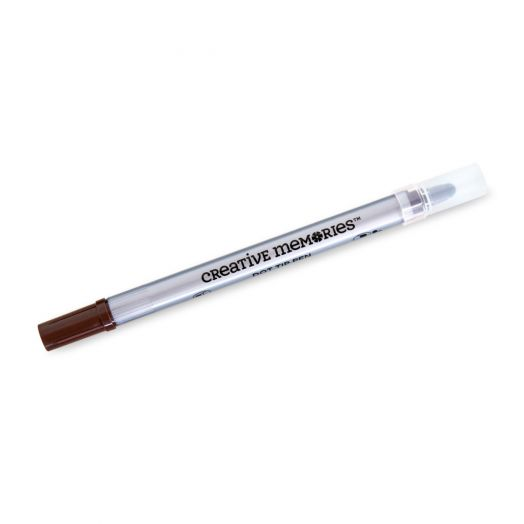 Creative Memories Chocolate brown dot pen