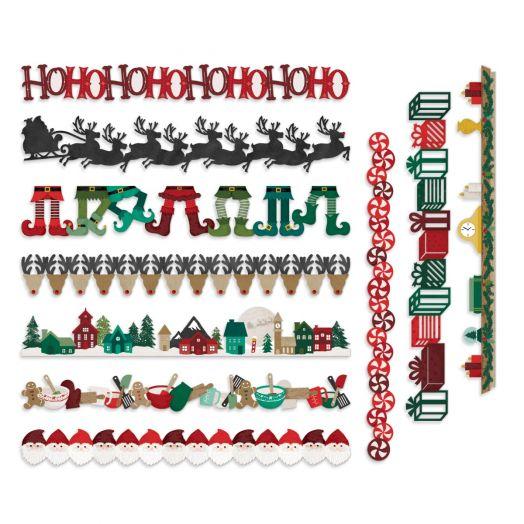 Creative Memories Christmas borders for scrapbooking - Christmas Spirit collection