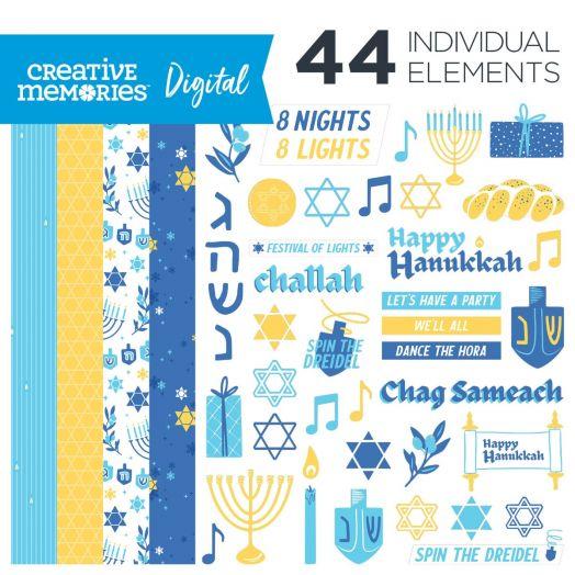 Digital Hanukkah Kit