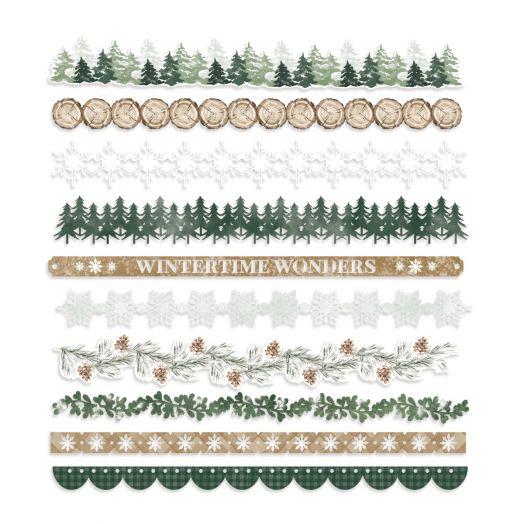 Creative Memories winter border embellishments - Winter Woods