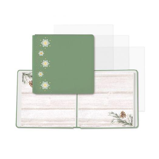 Creative Memories winter scrapbook - Winter Woods