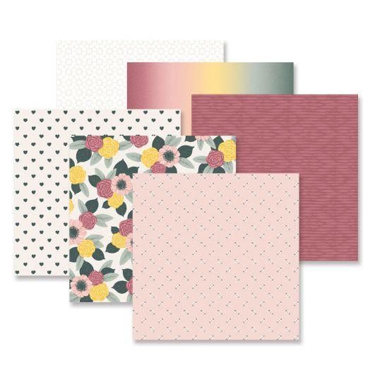 Creative Memories Winterberry Winter Scrapbook Paper - 657517