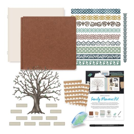 Creative Memories Family Memories heritage scrapbook album kit - 657623