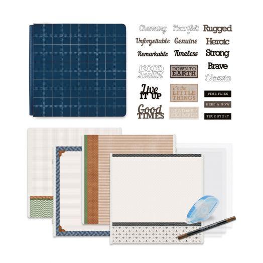 Creative Memories Winterberry Winter Scrapbook Kit Bundle - 657514