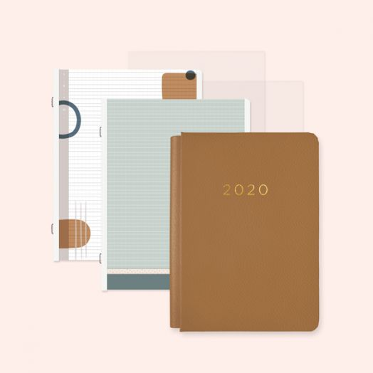 Creative Memories Happy Album light brown photo album with 2020 design - 657463