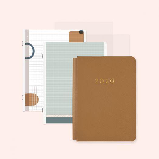 Creative Memories Happy Album light brown photo album with 2020 design - 657463
