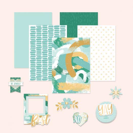 Creative Memories Happy Album scrapbook kit #18