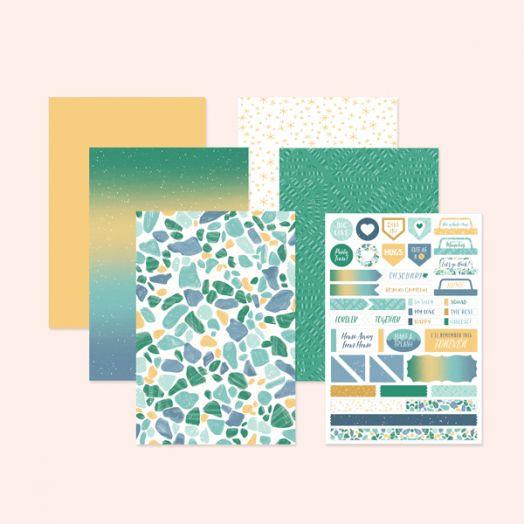 Creative Memories Happy Album Scrapbook Page Kits - Kit #19