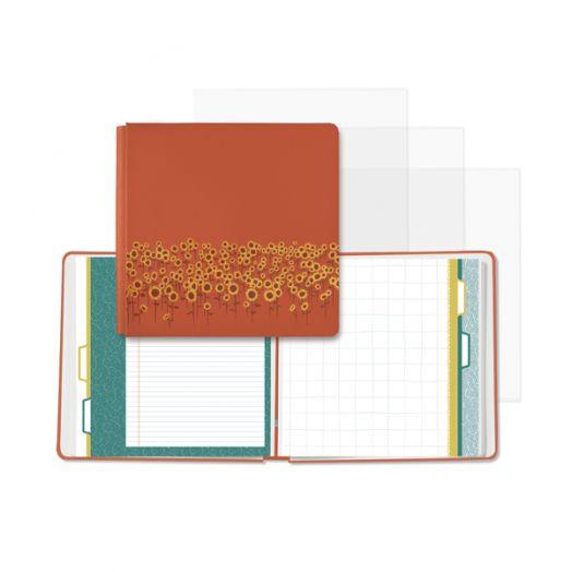 Creative Memories 12x12 orange Harvest Delight autumn scrapbook album - 657208