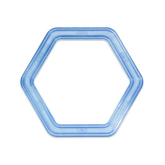 Jumbo Hexagon Custom Cutting System Pattern