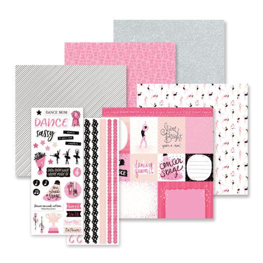 Creative Memories Just Dance scrapbook kit - 657303