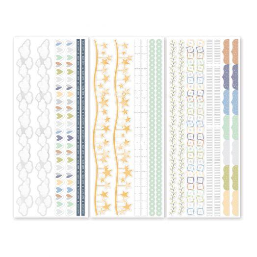 Creative Memories Little Dreamer Border Stickers - perfect for creating scrapbook borders
