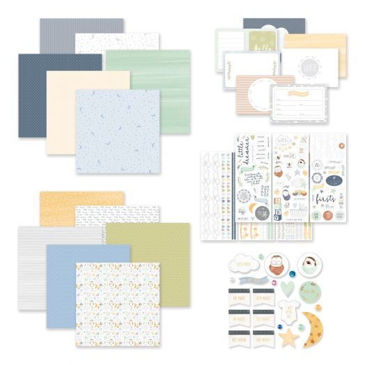 Creative Memories Little Dreamer Decorative Bundle baby scrapbook collection