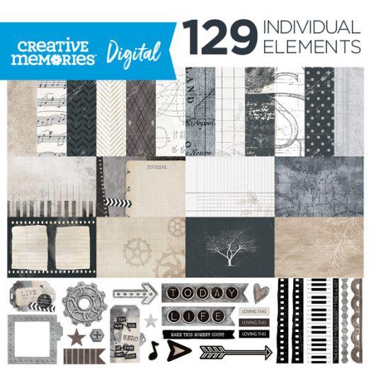Digital Memoirs & Memories Kit