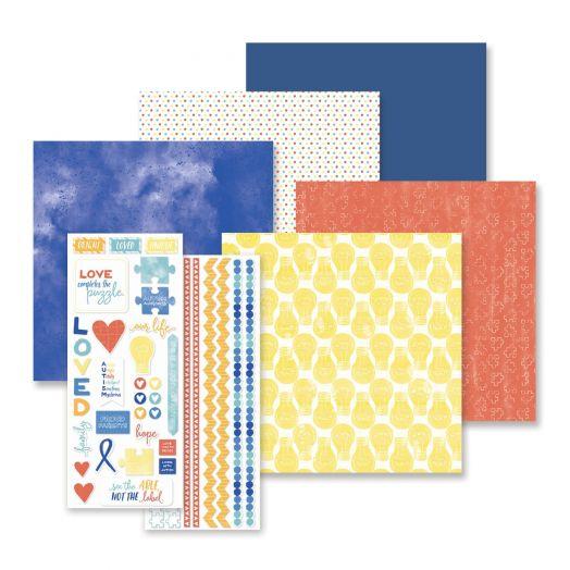 Autism Awareness Scrapbook Kit - Creative Memories