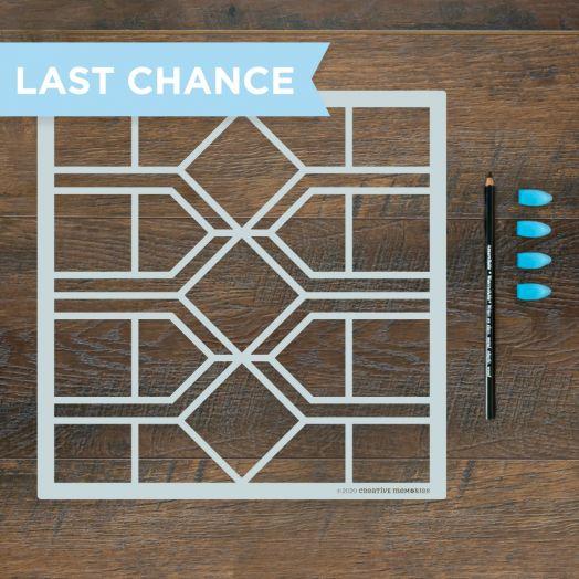 Creative Memories Symmetrical Stencil Kit