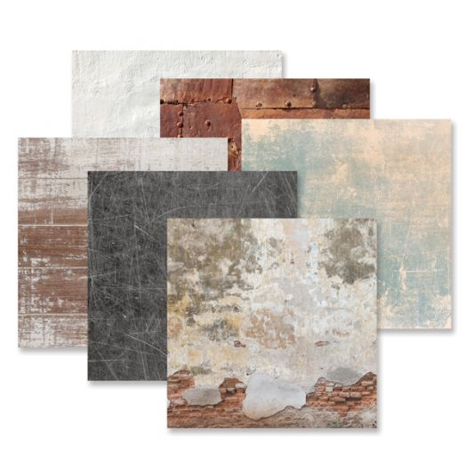 Creative Memories Timeworn Texture Paper Pack with paper texture