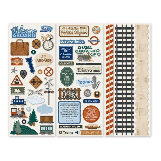 Creative Memories train stickers