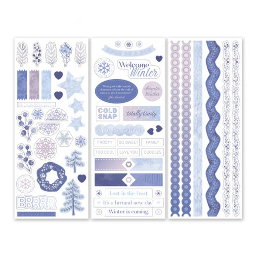 Creative Memories Winterberry Winter Stickers - 657520